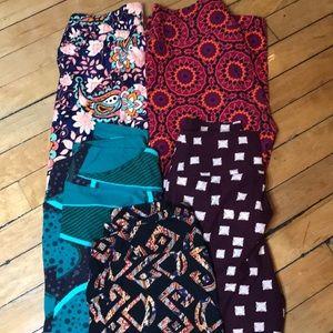 Lot of 5 pair of LuLaRoe leggings